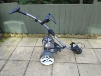 motocaddy S3 PRO electric golf trolley,new battery,new charger,good working condition.