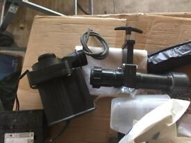 Pond pump aqua max 8500
