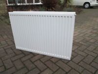 central heating double radiator 900 x 600