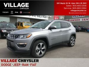 2017 Jeep Compass North|4X4|Nav|Apple Carplay|Remote|Cold Weathe