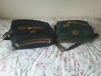 2 Travel / Flight Bags, with Handle and Shoulder straps