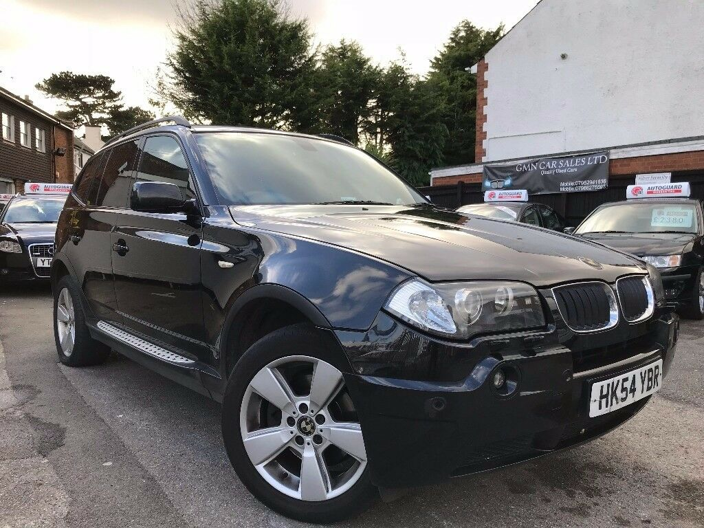 BMW X3 2.0 d Sport 5dr PANORAMIC 2 OWNERS 6 MONTHS WARRANTY 12 MONTHS MOT FULL BLACK LEATHER