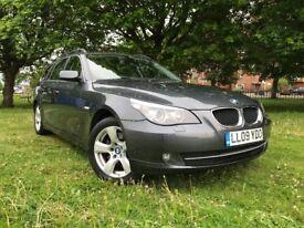 2009 BMW 5 SERIES 520D SE TOURING 4 DR MANUAL 174 BHP * ESTATE * 3 MONTHS WARRANTY *