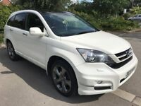 Fantastic Value 2010 CRV 2.2 D-TECH EX Sports Utility Vehicle Fully Loaded 91000 Mls HPI Clear