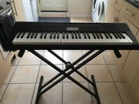 Casio Keyboard and stand