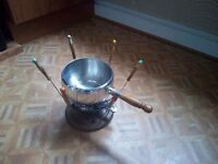 Vintage / retro fondue set, great condition