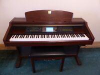 Yamaha Clavinova CVP 206 Digital piano with stool, excellent condition