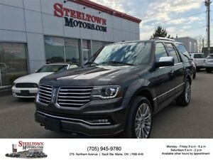 2017 Lincoln Navigator Heated & Cooled Leather|Sunroof|R/Start