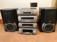 Technics sound system with surround sound