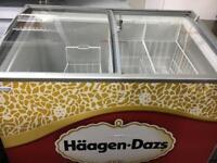 Haagen Dazs ice cream Freezer