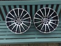 Ex display Wolfrace Alloys x 2 only