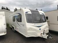 2013 bailey Pegasus gt65 6 berth top of shop caravan Finance available px and deliver MONDAY SALE