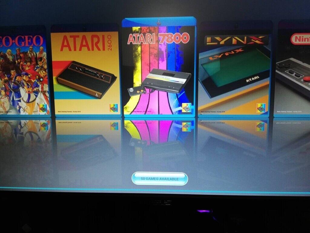 Retro Games Console RetroPie Starter Bundle 3600 Games 20 Systems   in  Basingstoke, Hampshire   Gumtree