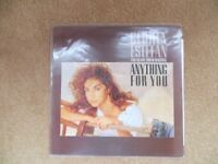 Gloria Estefan original vinyl LP ' Anything for you.'