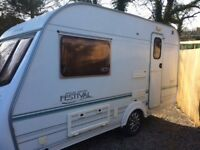 Prstine 2003 2 berth full awning motor mover 1 owner no damp Cris reg