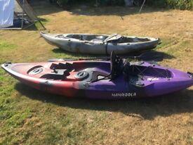 2X Mamboola Fishing Kayaks