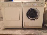 Miele Novotronic washing machine and tumble dryer