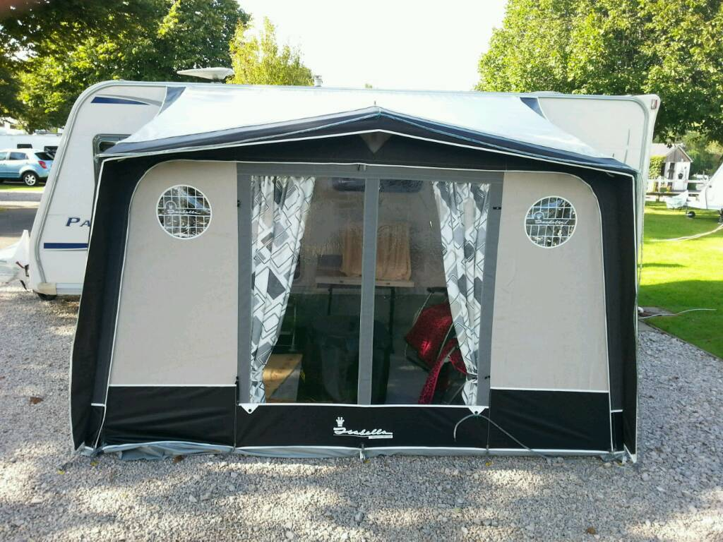 Isabella Magnum Coal 250 Porch Awning In Netley Abbey