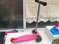 Girls mini micro scooter