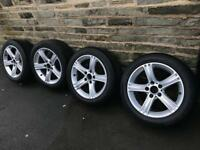 Alloys + Tyres BMW F30 17inch