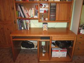 Wooden Computer Desk.