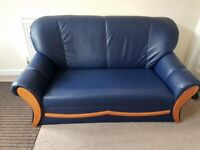 3-2-1 Leather sofa