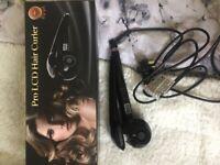 Pro LCD hair curler