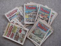 67 different Victor comics - various issues from Number 466 to 1515