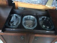 Retro Philips Hostess Trolley, complete with all 3 glass dishes and lids, fully working