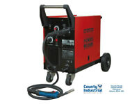 Sealey MIGHTYMIG210 Professional Gas/No-Gas MIG Welder 210Amp, Euro Torch