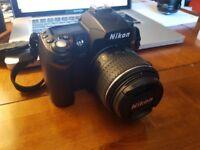 Nikon D90 with Nikkor 18-55 mm AF-S Dx VR Lens