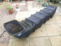 NEW COMMERCIAL CARP 3 METRE KEEPNET AND EXTENDING BANK STICK