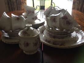 Lavender Rose Royal Albert Tea Set