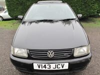 VW POLO 1.4 'OPEN AIR', LOW MILEAGE, GOOD CONDITION FOR YEAR, LONG MOT