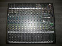 Mackie ProFX16 V2 Professional Mixer + USB Recording Interface with Setup via Mac or PC.