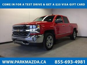 2017 Chevrolet Silverado 1500 LTZ 4x4 - Bluetooth, Remote Start,