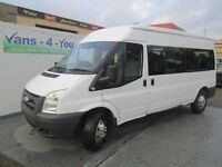 2008 ford transit 15 seater with tacho ex ministry of defence full history full mot belfast derry