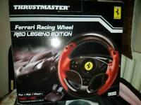 Brand new Thrustmaster ferrari pc/ps3 wheel