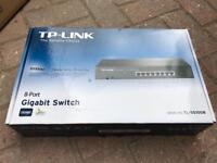TP-Link 8 Port Rackmountable Gigabit swifch