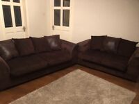 Three and two 3 + 2 seater sofa