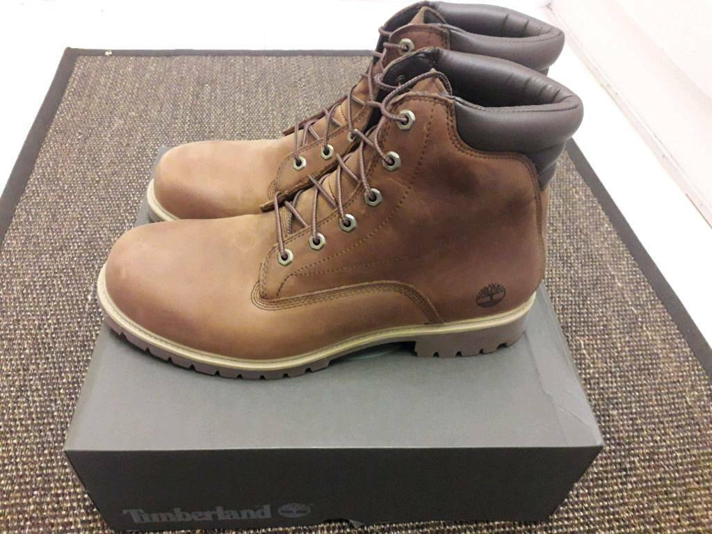 e7f8fe9b Timberland Men Alburn 6 Waterproof Boots MD Brown UK size 12.5 (47.5)