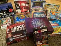 Large selection of board games