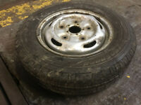 """15"""" Ford Transit wheel with tyre - plenty of thread - £35 or offers"""