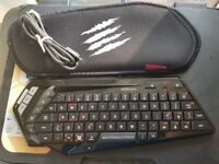 MAD CATZ S.T.R.I.K.E. M BLUETOOTH GAMING KEYBOARD UK LAYOUT RRP £49.99