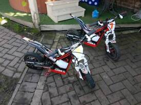 2 x osset bikes excellent condition low use