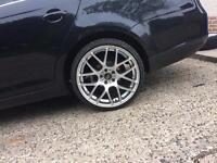 "5x112 19""alloys 4 good tyres"