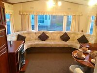 Cottage Style Static Caravan for Sale on the West Cost, Lancashire. 12 Month Season.