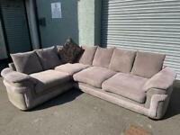 Beautiful grey Harvey's corner sofa delivery 🚚 sofa suite couch furniture