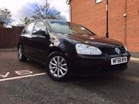 2009 58 vw golf 1.9 tdi match with full service history faultless
