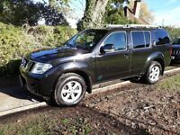 Nissan Pathfinder 2.5 dCi Acenta, 2011, 68,000 miles, Black, Manual 4x4, 5dr, 7 Seats